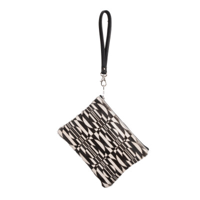 Owen Barry Clutch Bag Geometric Print