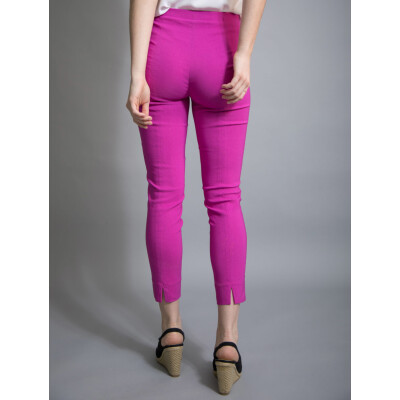 Robell Rose 09 Trousers 7/8 length in fuchsia pink available on www.colmershill.com
