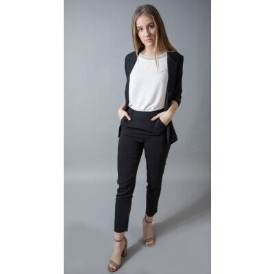 Bariloche Zafra Black Dress Trousers will be a classic for your wardrobe available from colmershill.com