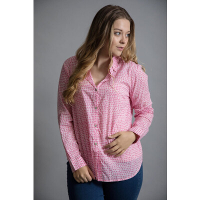Luella Antigua Shirt in pink available on colmershill.com