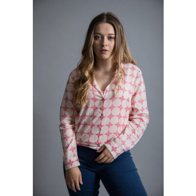 Luella Trinidad Boyfriend Shirt in Pink available on colmershill.com