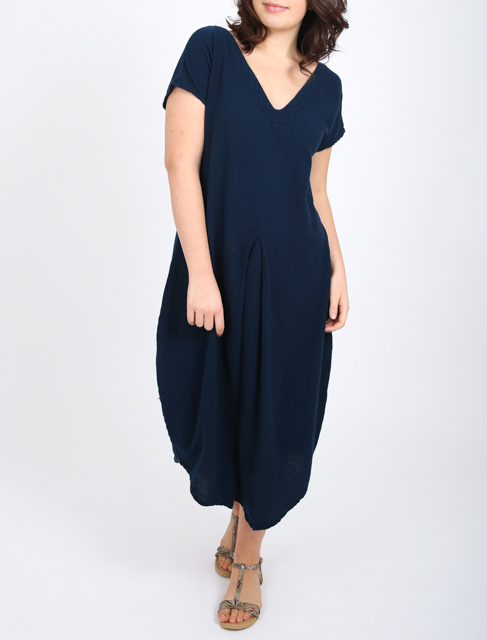 Onelife Natalie dress is a balloon shaped dress with a pleat at the front and back, available on colmershill.com