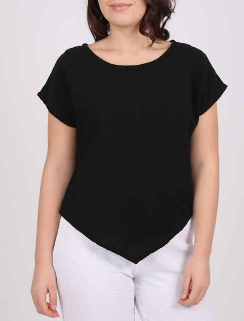 The Onelife Grace top is made of cotton and a useful basic for your summer wardrobe, available on colmershill.com