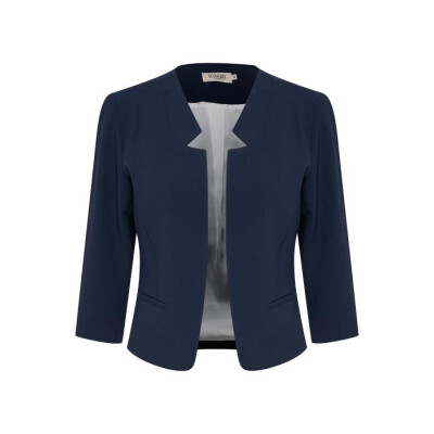 A smart cropped open jacket ideal for summer special occasions from Soaked in Luxury and available on colmershill.com