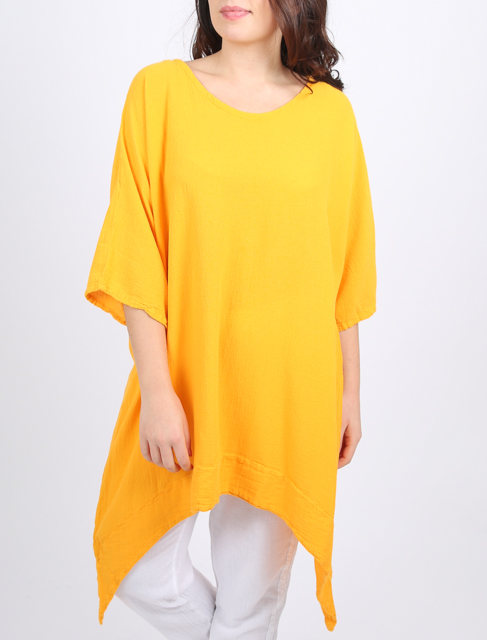 Onelife Darcy tunic in mango or limella made of cotton available on colmershill.com
