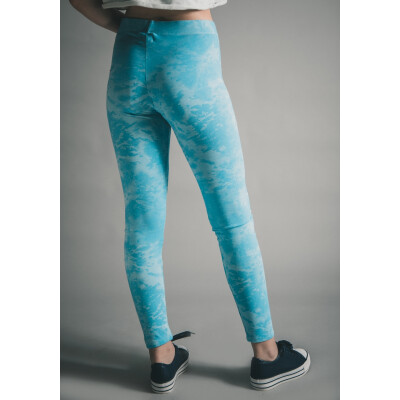 A Postcard From Brighton Tara Tie Dye Leggings Sky Blue available on colmershill.com