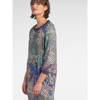 Sandwich Clothing multicolour print shift dress in this season's colours available on colmershill.com