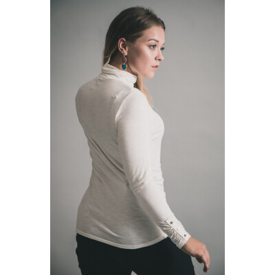 Marble High Neck Jersey Top 5528 available on colmershill.com