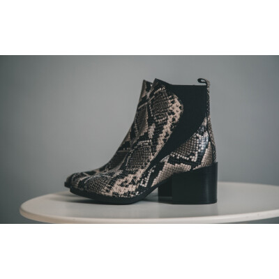 Alpe Snakeskin Chelsea Boots are a Spanish leather ankle boot available to buy on colmershill.com