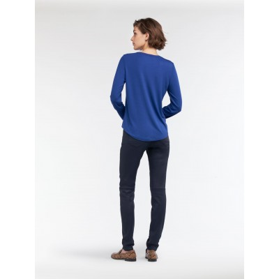Sandwich Long Sleeve Top Blue 21101775-40026 available from colmershill.com