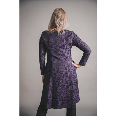 Out of Xile Midi Jacquard Dress Sapphire 24AW19 available on colmershill.com