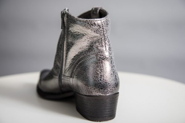 Felmini Metallic Leather Cowboy Boot available on colmershill.com