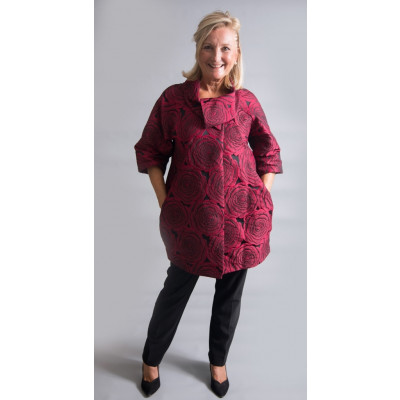 Joseph Ribkoff Red Rose Jacket available on colmershill.com