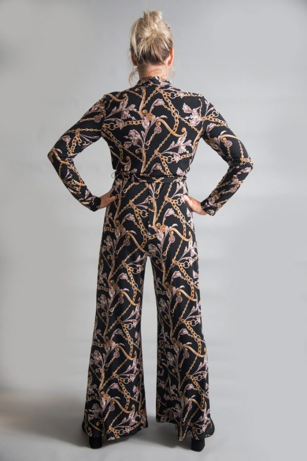 Joseph Ribkoff Printed Jumpsuit available on colmershill.com