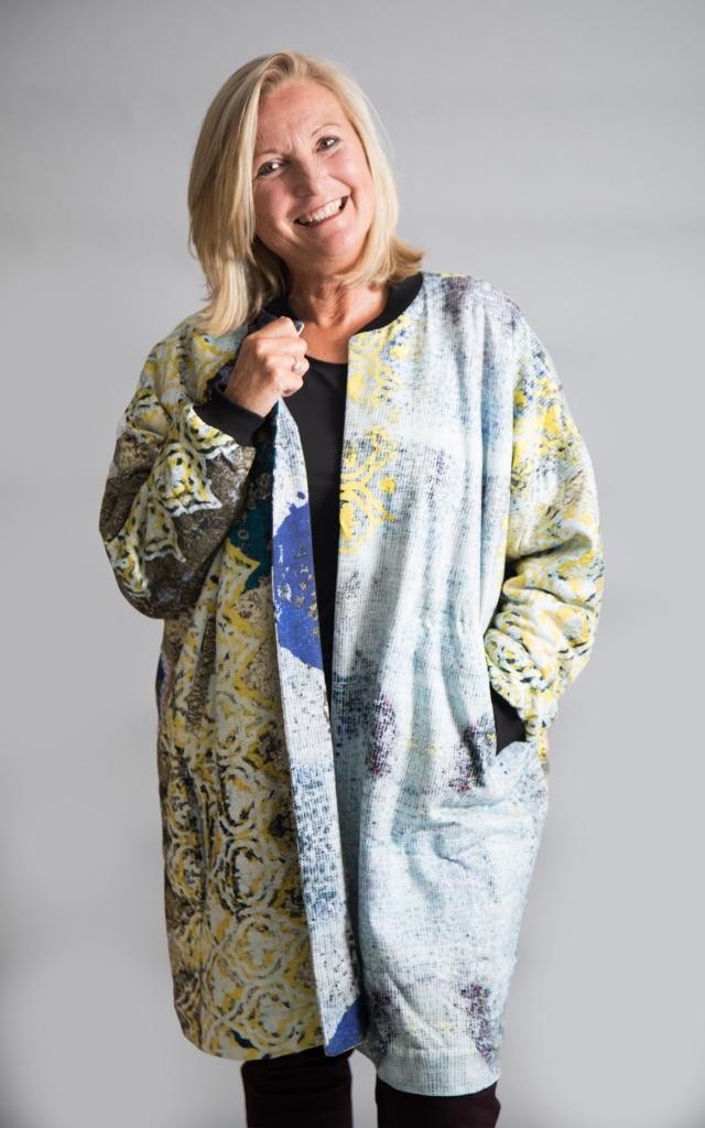 Yavi Raga Cotton Coat Wool Lining Yellow ⋆ Colmers Hill