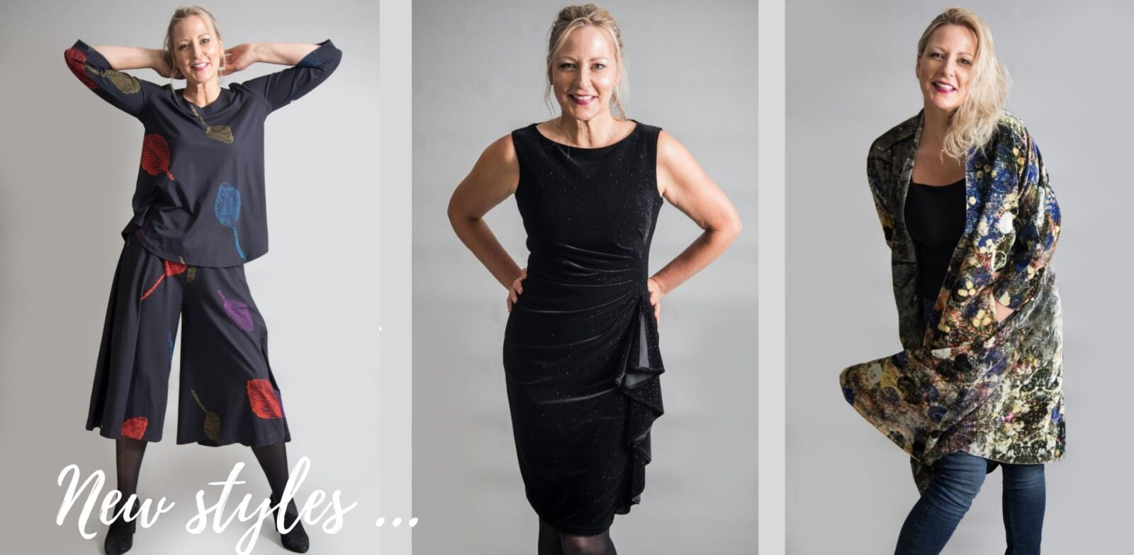 New Autumn Winter Styles at Colmers Hill Fashion