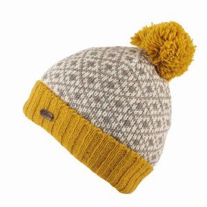 Kusan Bobble Hat Yellow