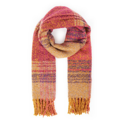 Powder Maggie Scarf Fuchsia available on colmershill.com