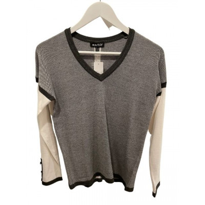 Marble Block Grey & Ivory Jumper available on colmershill.com