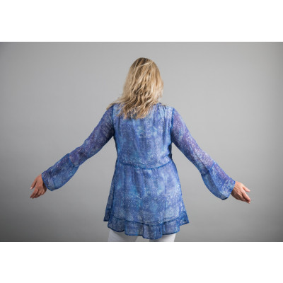 Simclam Tunic Blouse Denim Blue available on colmershill.com