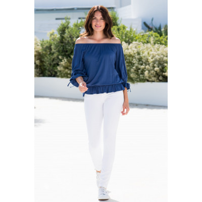 Marble Off-the-Shoulder Top 5732_103 available on colmershill.com