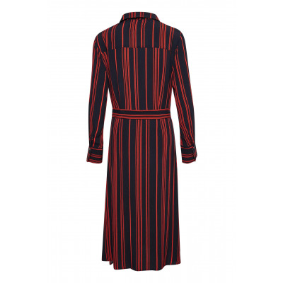 Soaked in Luxury Halima Shirt Dress Night Sky available on colmershill.com