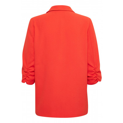 Soaked in Luxury Shirley Blazer Tangerine Tango available on colmershill.com