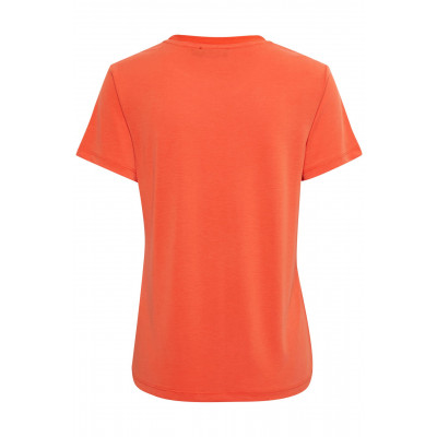 Soaked in Luxury Columbine Tee Tangerine Tango available on colmershill.com