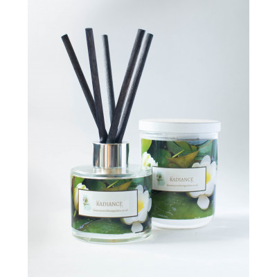 From My Mother's Garden Radiance Candle and Diffuser has a Ylang Ylang and Citrus scent and is handmade in Devon. Available to buy on colmershill.com