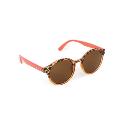 Powder Erin sunglasses in tortoiseshell with coral arms available on colmershill.com