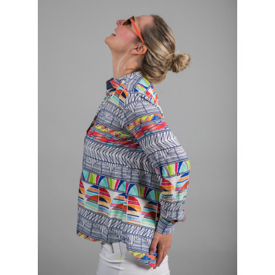 Tinta Dayana Shirt comes in a multicolour print and is available on colmershill.com