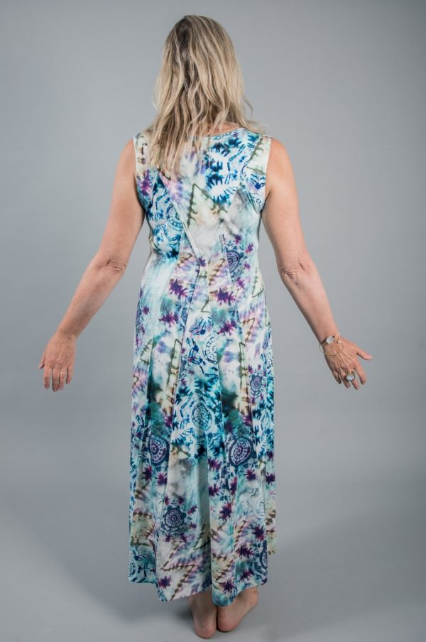 Simclan Tie-Dye Maxi Jersey Dress available on colmershill.com