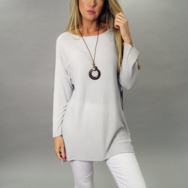 Deck Long Jumper with Necklace available on colmershill.com