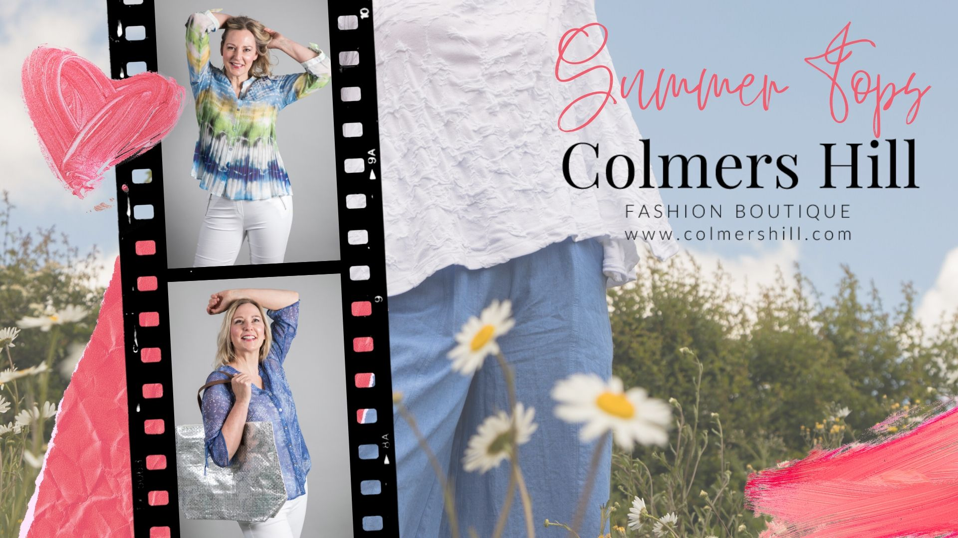 Summer tops at colmershill.com
