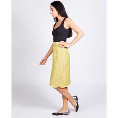 Lagom Dorset Skirt Yellow available on colmershill.com