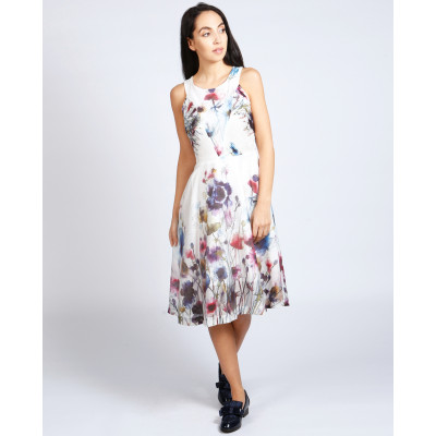Lagom Lavinia floral summer dress available on colmershill.com