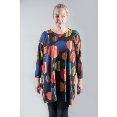 Out of Xile 24AW20 Eclipse Tunic made of jersey available on colmershill.com