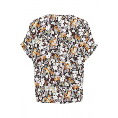 Soaked in Luxury Mori short sleeve top with a floral print from the AW20 collection available on colmershill.com