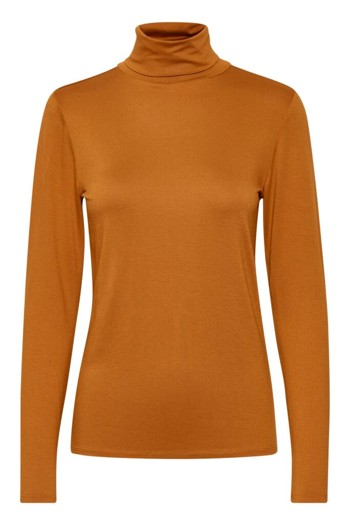 Soaked in Luxury Sugared Almond Hanadi Rollneck long sleeve top available on colmershill.com
