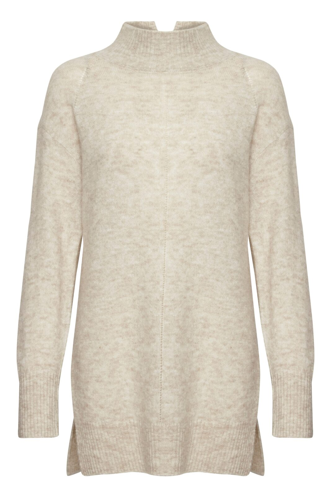 Soaked in Luxury Angel Rollneck Pullover in Whisper White is an alpaca long jumper available on colmershill.com