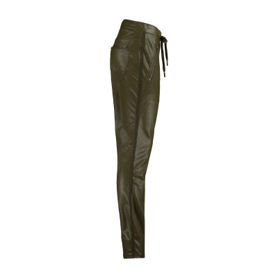 Red Button PU Tessy Joggers in Olive available on colmershill.com