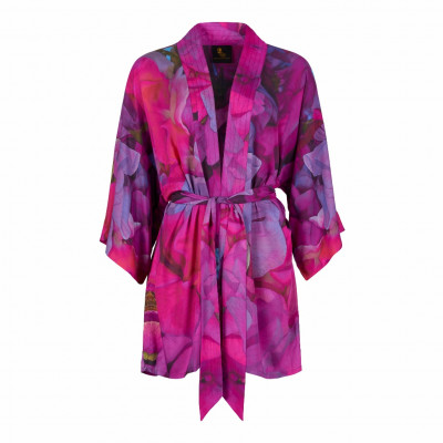 From My Mother's Garden Sweet Pea mini robe with its exclusive print is available on colmershill.com