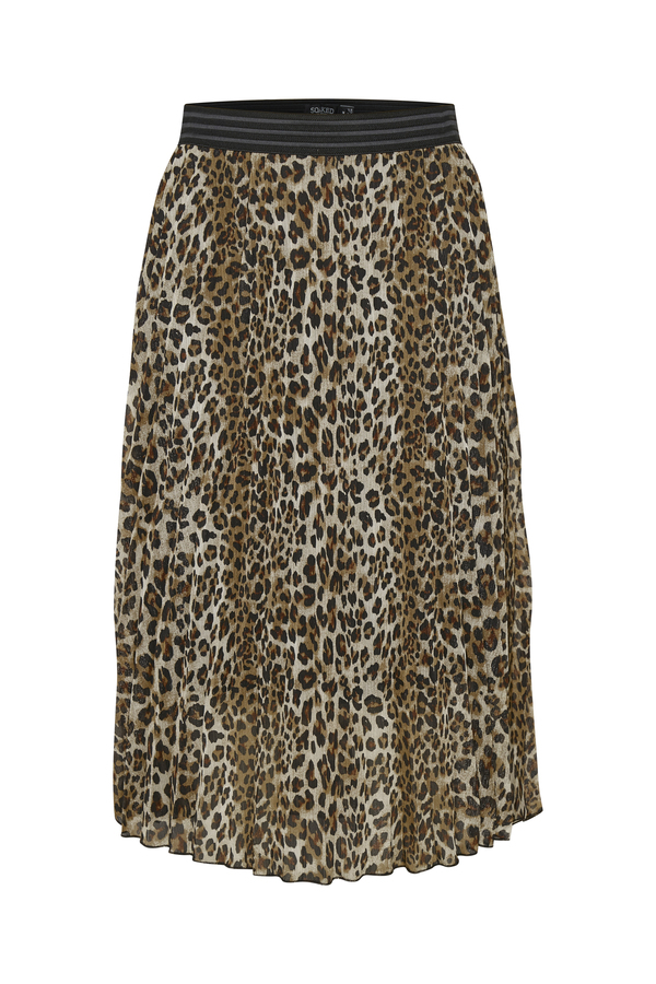 Soaked in Luxury Eteri animal print skirt available on colmershill.com